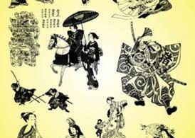 Samurai Geisha Illustrations