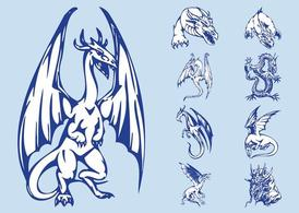 Dragons Graphics Set