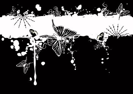 Fashion pattern and the Butterfly