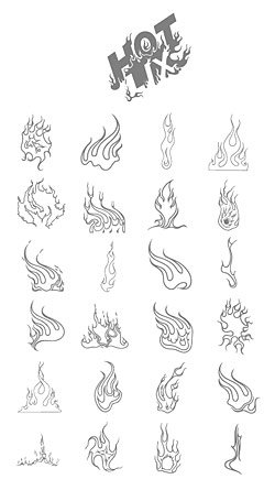Cool fire series of