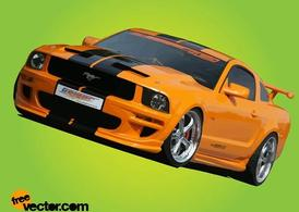 Giallo Ford Mustang