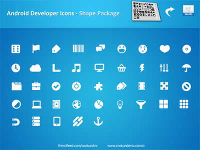 Android Icons-Form-Pack
