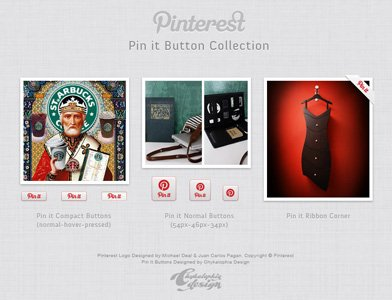 Pinterest Pin es Button