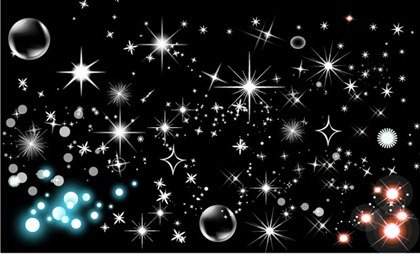 Shining star bubbles, Cliparts - Clipart.me