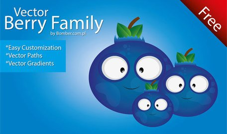 Vector Berry Family