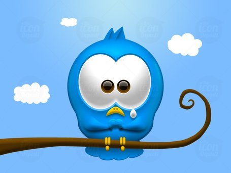 Sad Twitter Bird Icon Cliparts Clipart Me
