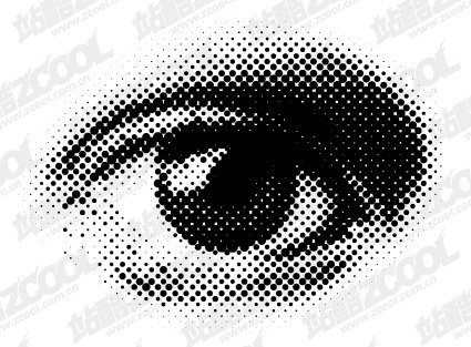 Round Eye Vector Network material