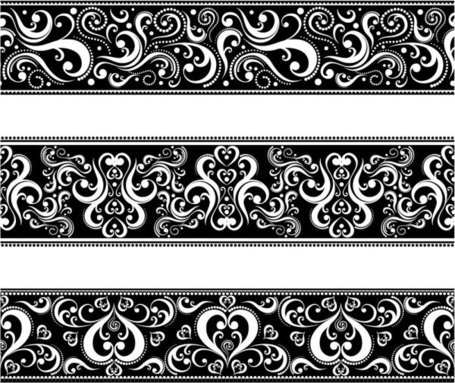 Classic traditional lace pattern 04