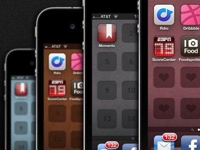 iPhone4 Retina Display Wallpaper Templates