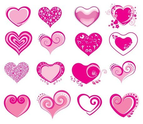 pembe heartshaped simgesi