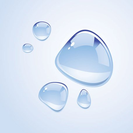 Water Drops Vector Graphics (Free)