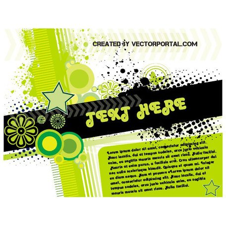 ABSTRACT VECTOR TEXT PAGE.eps