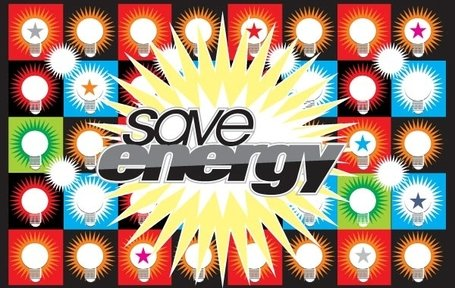 Save Energy Vector Save Energy Bulb