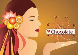 Chica chocolate
