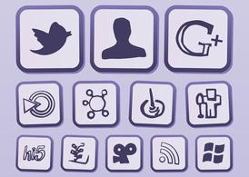 Vecteur Internet Icons