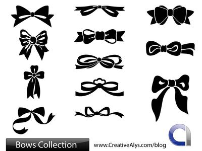 Flat Bows and Ribbon Pack