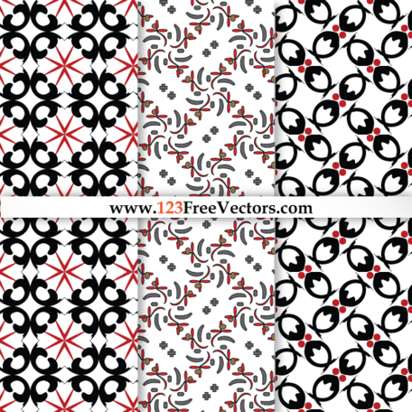 Vector Floral Pattern Background Graphic Design