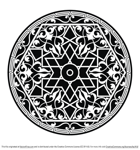 Round Ornamental Element