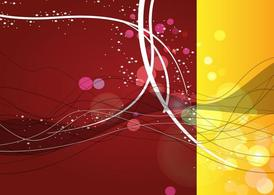Abstract Celebration Background