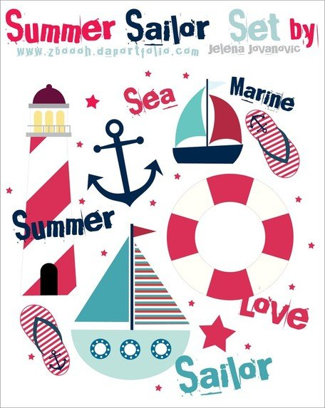 Summer Sail Design Set