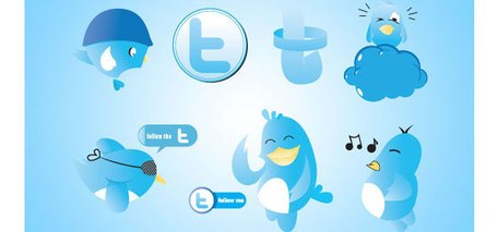 Lustige Twitter Icons