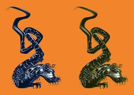 Chinese Dragon Vectors