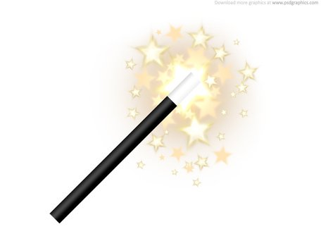 Magic wand icon, Vector - Clipart.me