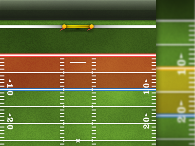 Football iPhone UI