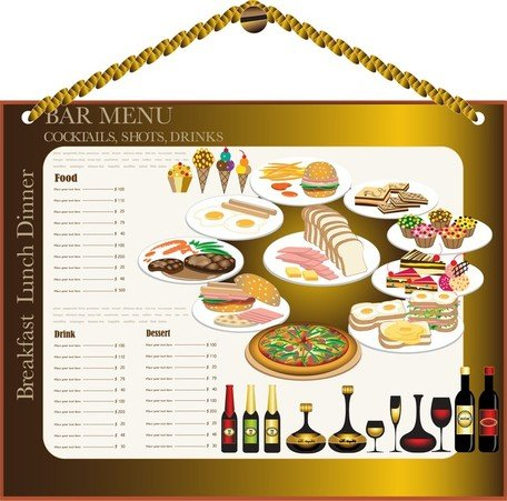 Menu restaurant Design 02