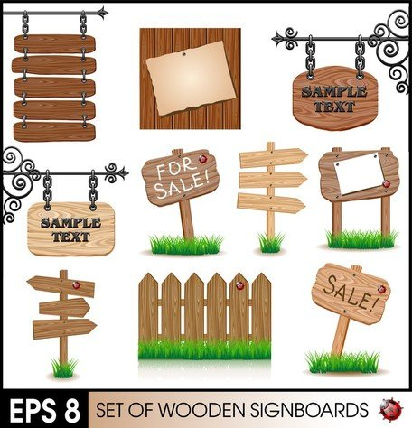Wood Signs 02