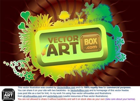 Vector Art Frame