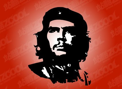 Che Guevara classic black and white