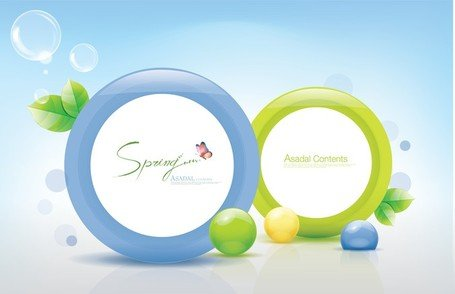 Fresh Threedimensional Color Vector 1 Ring