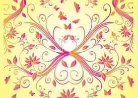 Free Summer Flowers Vectors