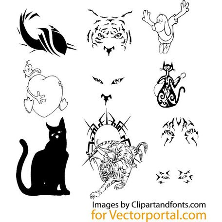 ANIMALS VECTOR PACK.eps