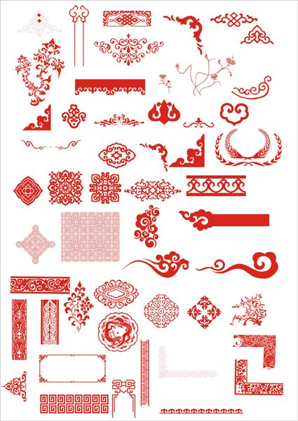 Fine Chinese Classical pattern