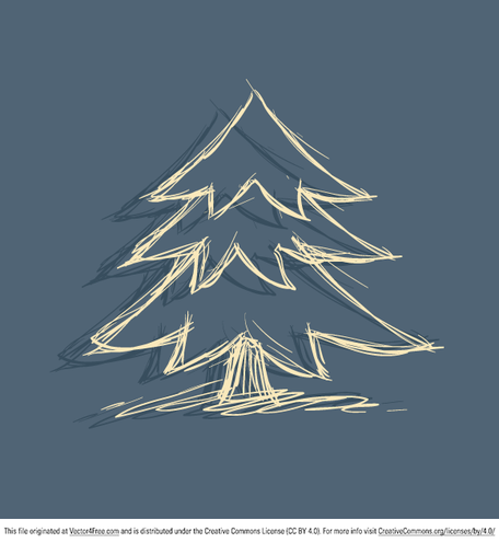 Doodle Christmas Tree