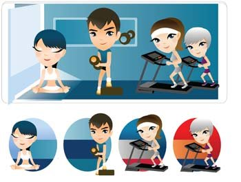 Fitness vector 3