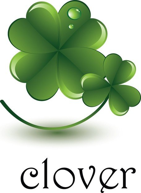 3D Clover Vector Element, Poker Vector Ai, Card Vector Ai, Photoshop Clover Vector Illustrator Ai