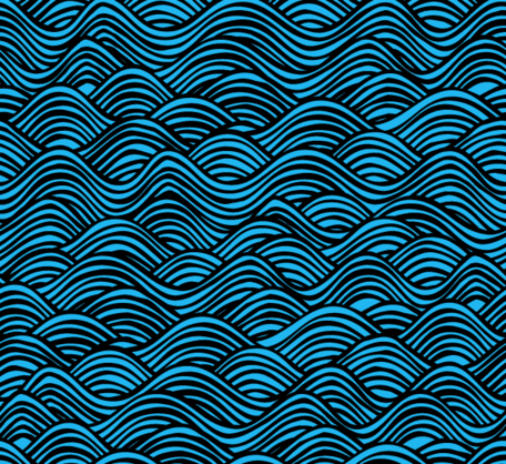 Water Pattern Vector Free