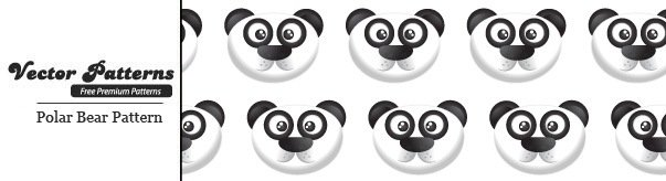A Cute Panda Bear Seamless Photoshop And Illustrator Pattern
