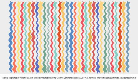Colorful Wavy Line