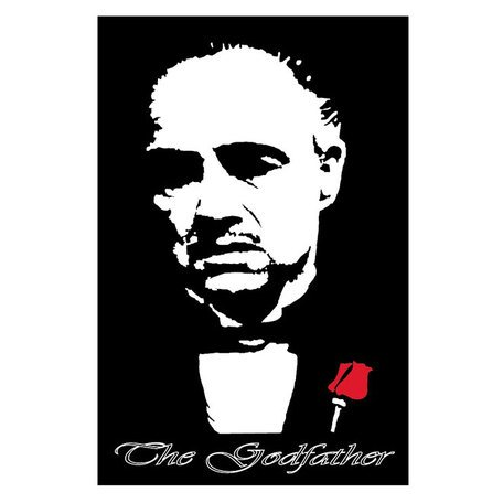 GODFATHER MARLON BRANDO VECTOR.eps