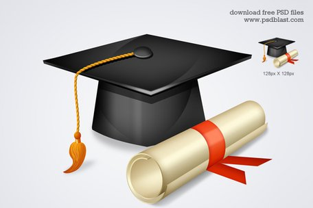 Free High School Graduation Icon