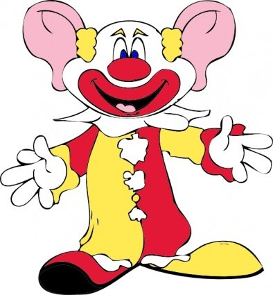 Free Big Earred Clown Clipart And Vector Graphics