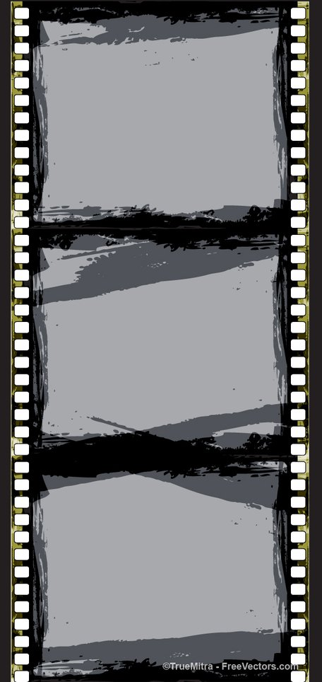 Grunge Retro Film Strip