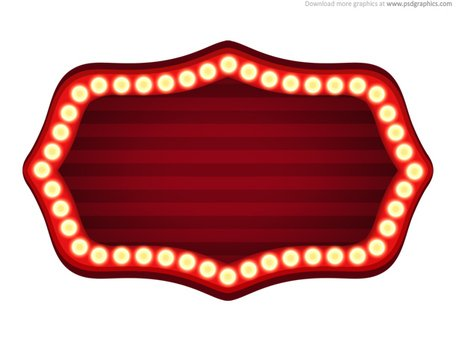 free theater sign template psd clipart and vector graphics
