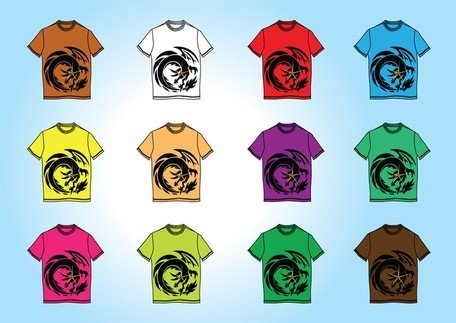 Free T-Shirt Templates Vectors