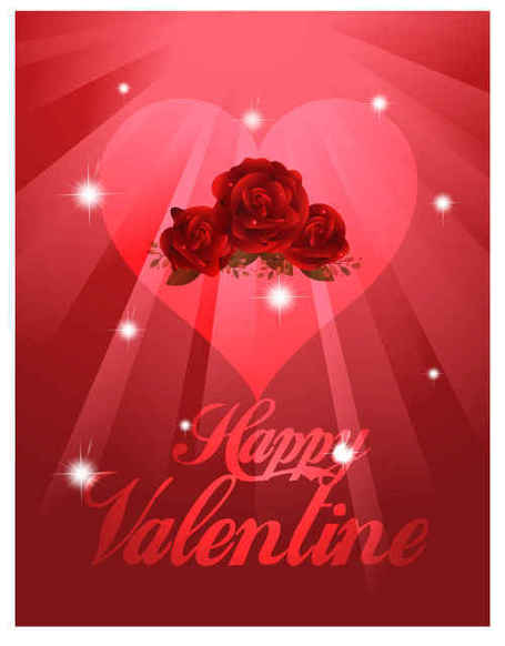 Valentine Red background