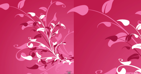 Vector Flower Decoration Background